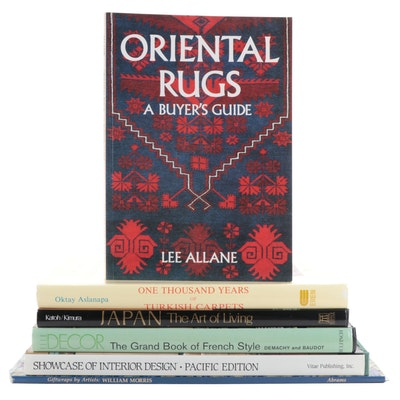 """""""Oriental Rugs: A Buyer's Guide"""" by Lee Allane and More Reference Books"""