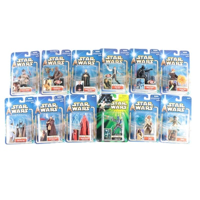 """Collection of Unopened """"Star Wars"""" Action Figures, Early 2000s"""