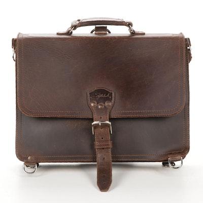 Saddleback Full-Grain Leather Messenger Bag