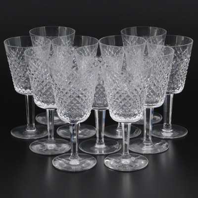 """Waterford Crystal """"Alana"""" Water Goblets"""