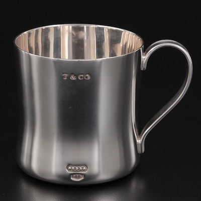 Tiffany & Co. Sterling Silver Baby Cup