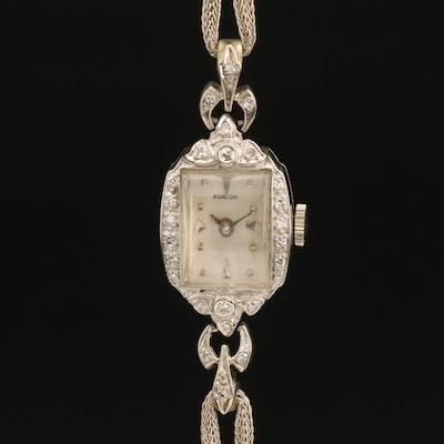 Avalon 14K Diamond Wristwatch