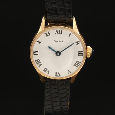 Concord For Cartier 14K Wristwatch