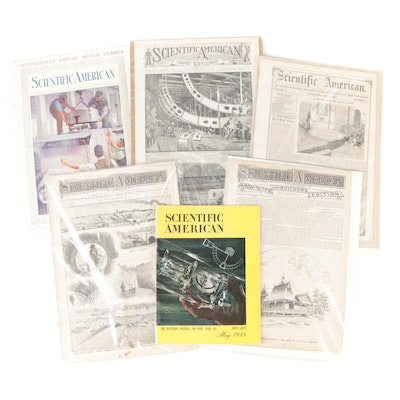 """""""Scientific American"""" Magazine 70th Anniversary Issue with Other Issues"""