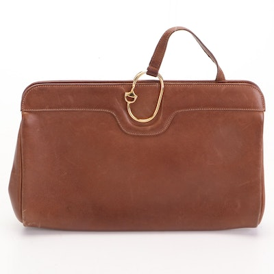 Gucci Clutch in Brown Leather