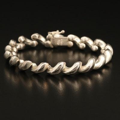 Italian Sterling San Marco Bracelet