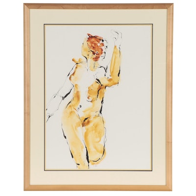 Drawing of Standing Nude, Circa 2000
