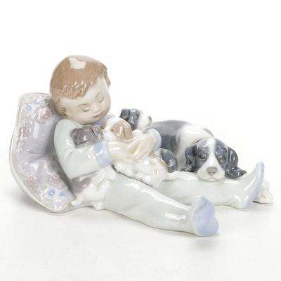 """Lladró """"Sweet Dreams"""" Porcelain Figurine Designed by Antonio Ramos"""