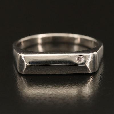 Sterling Silver Color-Change Garnet Ring