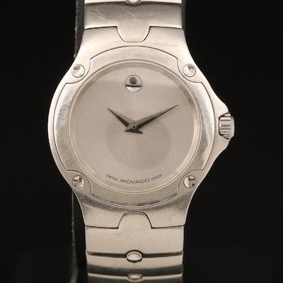 Movado Sport Edition Stainless Steel Quartz Wristwatch