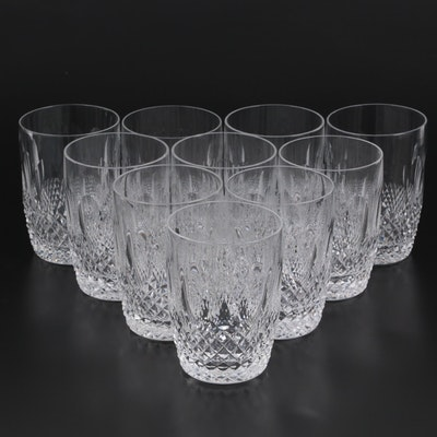 """Waterford """"Colleen Short Stem"""" Cut Crystal Tumblers"""