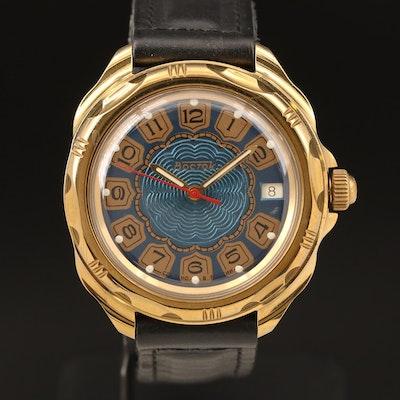 Russian Bocktock Manual Wind with Date Wristwatch
