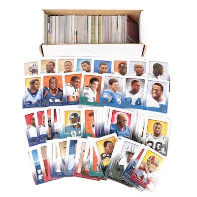 "1990s-2000s Football Cards Including 2003 Donruss ""Gridiron Kings"""
