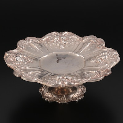 """Reed & Barton """"Francis I"""" Sterling Silver Compote, Late 19th/ Early 20th Century"""