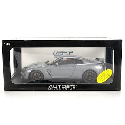 Limited Edition Autoart Millennium Nissan GT-R 1:18 Scale Model Car