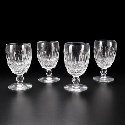 """Waterford Crystal """"Colleen Short Stem"""" Claret Wine Glasses"""
