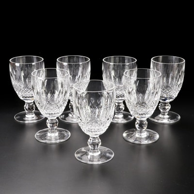"""Waterford Crystal """"Colleen"""" Short Stem Wine Clarets"""