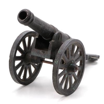 Cast Iron Cannon Form Doorstop