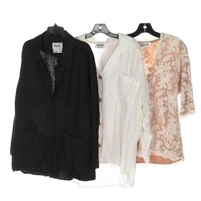 Flax, David Dart and Helga Linen and Lace Shirts