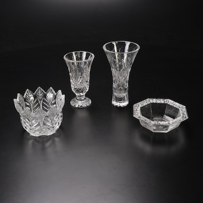 Rogaska, Rosenthal, and Marquis by Waterford Crystal Vases and Bowls