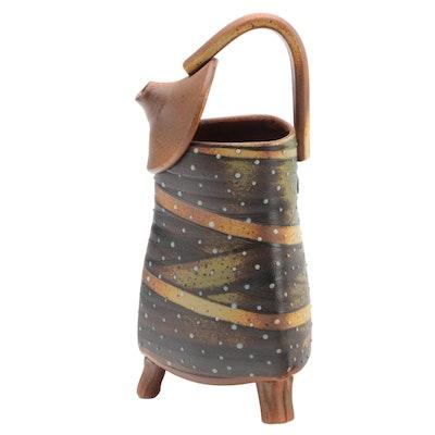 Dan Finnegan Handcrafted Studio Pottery Pitcher