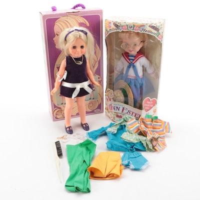 Ideal Growing Hair Velvet and Playmates Mary Engelbreit Ann Estelle Dolls