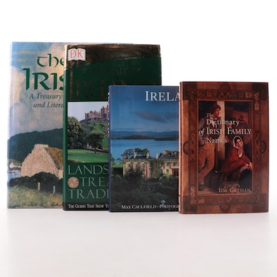 """""""The Dictionary of Irish Family Names"""" by Ida Grehan and Other Irish Books"""