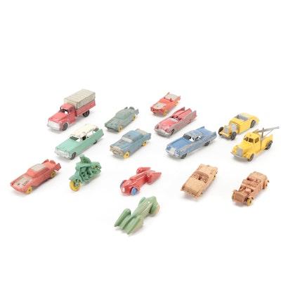 Renwal, Auburn, Tootsietoy Plastic, Rubber, Metal Toy Cars and Trucks
