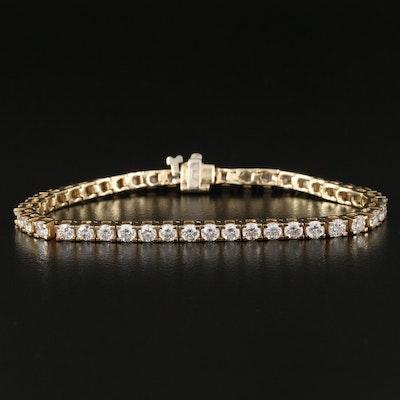 14K 3.96 CTW Diamond Line Bracelet