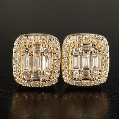 14K 0.57 CTW Diamond Earrings