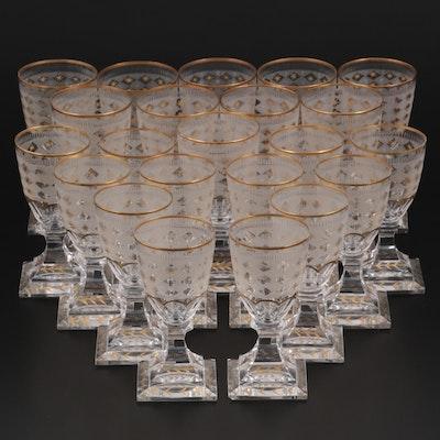 Kosta Boda Mid Century Modern Style Liquor Glasses