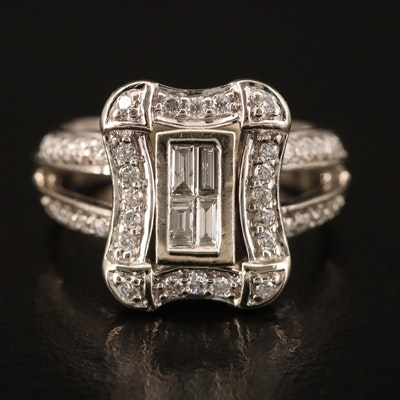 14K 0.51 CTW Diamond Ring