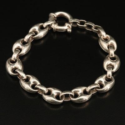 Italian Sterling Mariner Chain Bracelet