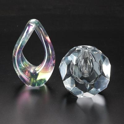 Robert Eickholt and Strömbergshyttan of Sweden Art Glass Paperweights