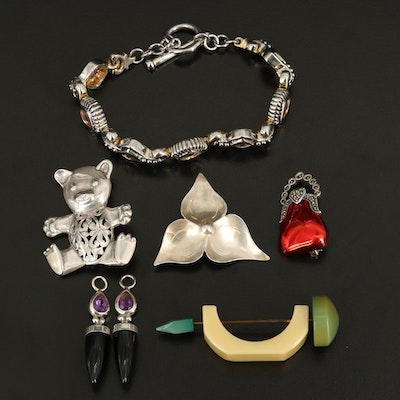 Sterling Jewelry Collection Featuring Judith Jack, Stuart Nye and Jezlaine