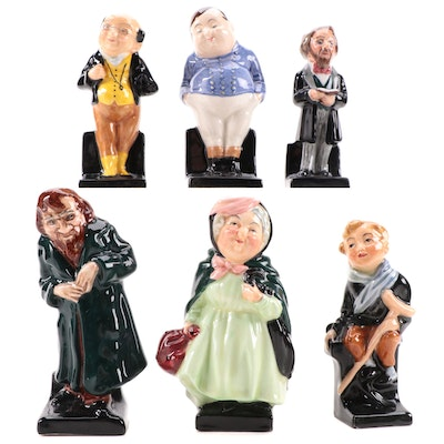 """Royal Doulton """"Charles Dickens"""" Ceramic Character Figurines"""