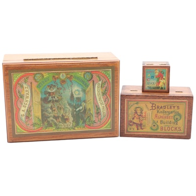 Wooden Decorative Victorian Style Boxes