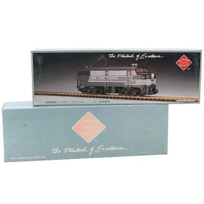 "Aristo-Craft ""G"" Scale Model Railway B&O Diesel Locomotive"