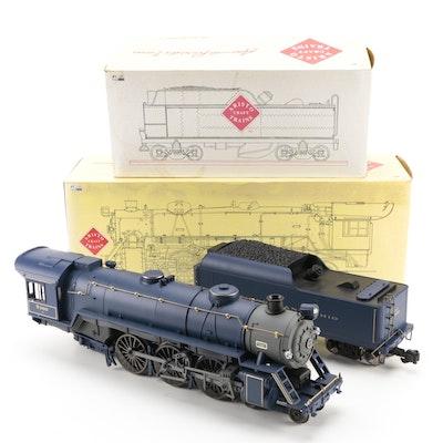 "Aristo-Craft ""G"" Scale Model Railway B&O Steam Locomotive with Tender, 1990s"