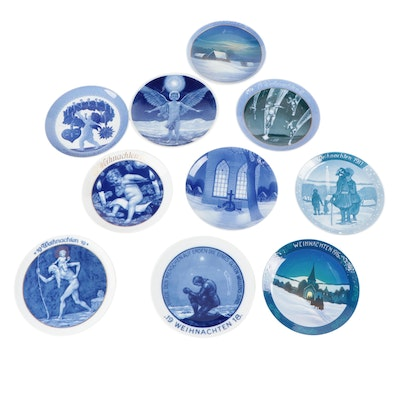 """Rosenthal-Continental """"Winter Peace"""" and Other Rosenthal Christmas Plates"""