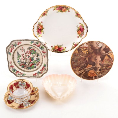 Belleek, Royal Albert, Ridgewood, and Other Bone China Tableware