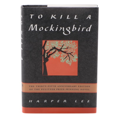 """Signed 35th Anniversary Edition """"To Kill a Mockingbird"""" by Harper Lee, 1995"""