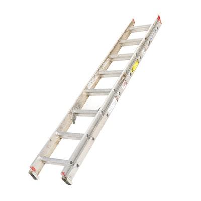 Werner Model D1116-2 16-Foot Aluminum Extension Ladder