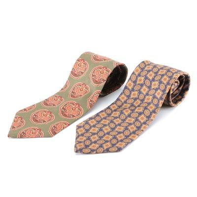 Liberty of London Medallion Silk Neckties
