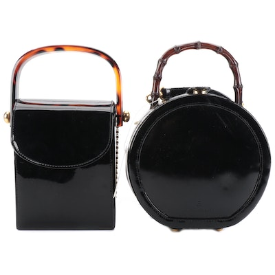 Etienne Aigner and Jose Cotel Top Handle Bags