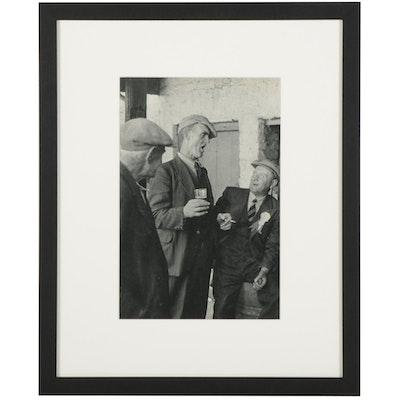 "Henri Cartier-Bresson Irish Pub Rotogravure From ""The Europeans,"" 1955"