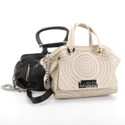 ZAC Zac Posen and Rock & Republic Leather Handbags