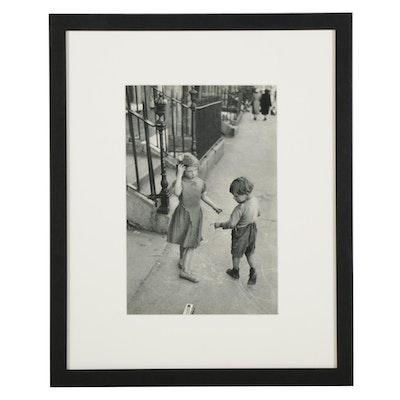 """Henri Cartier-Bresson Dublin Street Rotogravure From """"The Europeans,"""" 1955"""