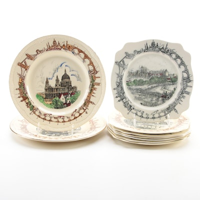 """A.J. Wilkinson and Other """"There'll Always Be An England"""" Collector Plates"""