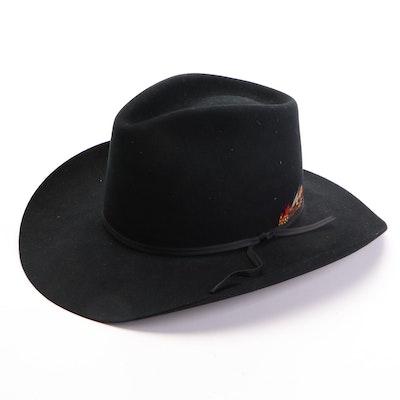 Bradford Wool Felt Tycoon Western Hat with Stetson Hat Box
